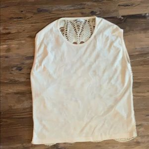 Volcom off white tank top. Size XS